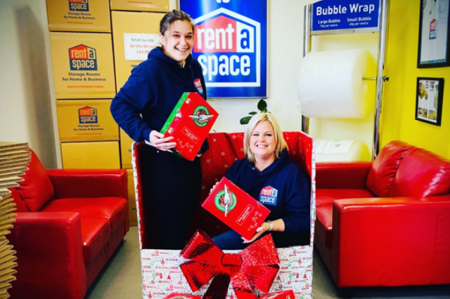 Shrewsbury Store Makes Space for Christmas Shoebox Appeal